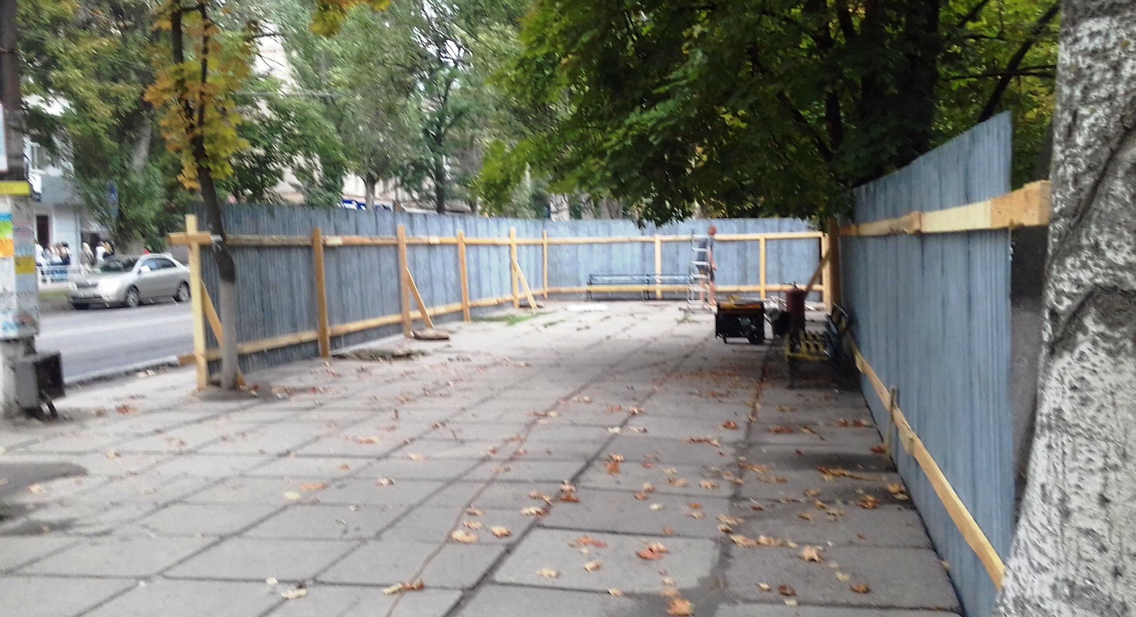 Херсонцам стало известно, что же строится на углу Ушакова -Кулика