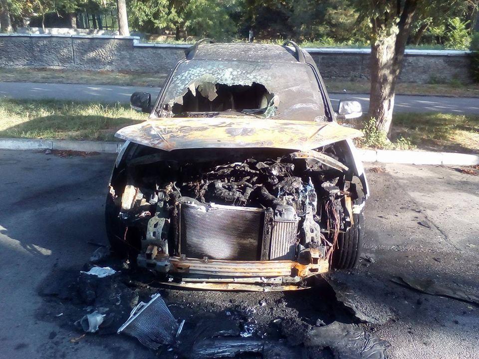 Таки підпал: херсонська поліція висунула припущення про причини займання авто