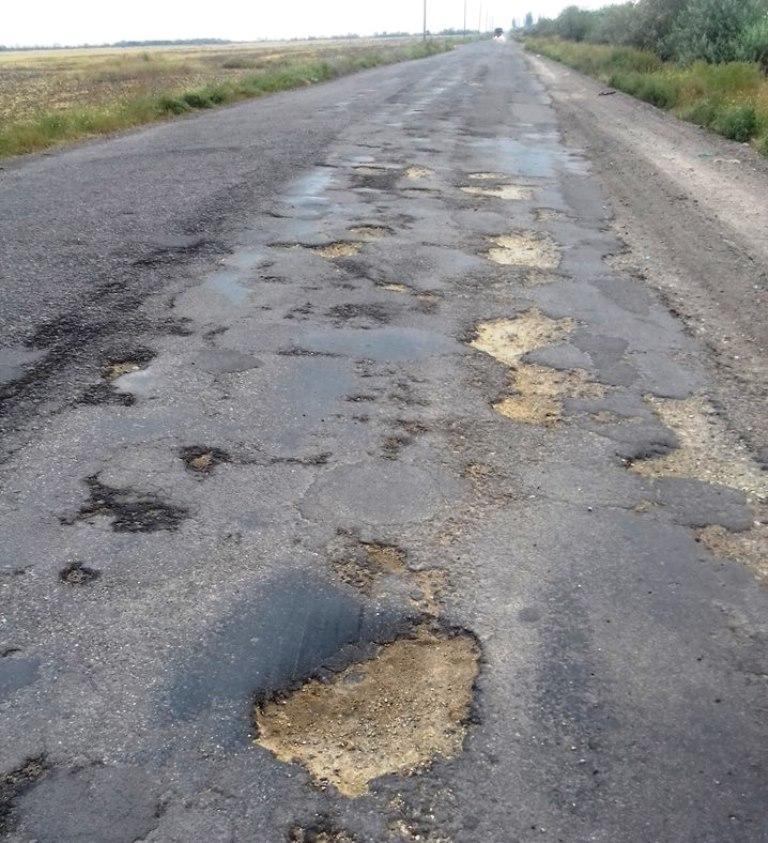 Дорога к херсонскому курорту все лето поражала туристов (фото)