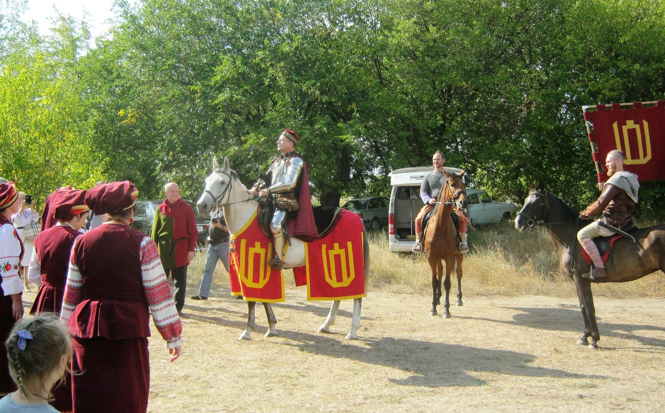 На Херсонщине побывал Князь Витовт