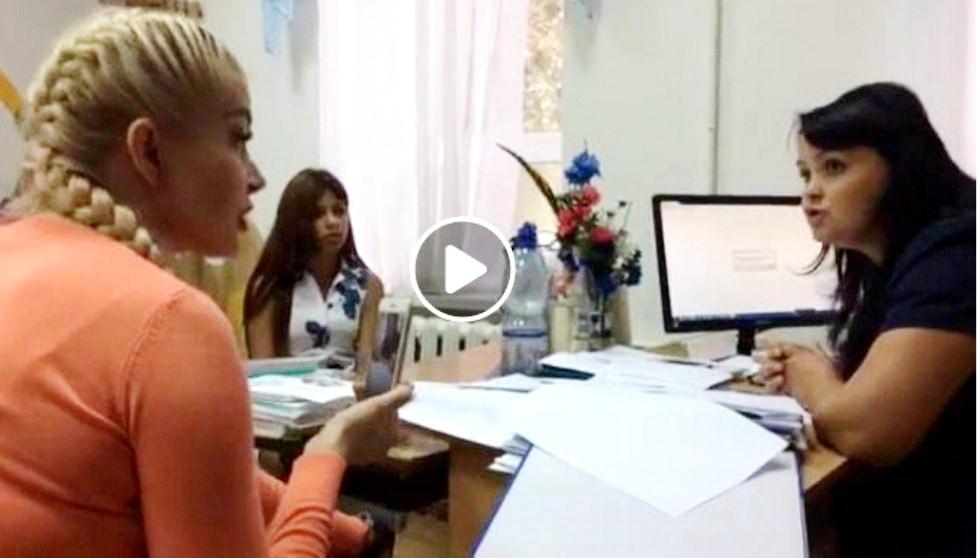 Херсонская школьница пожаловалась на физрука (видео)