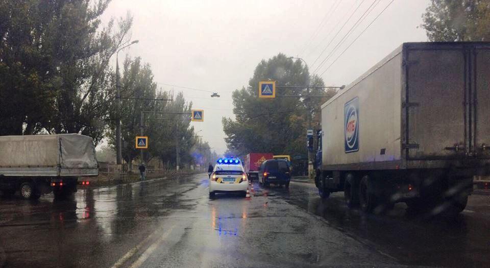 Через погодні умови в Херсоні нове ДТП