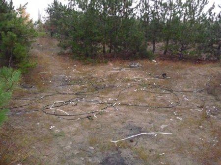 У Новій Каховці затримано крадія телефонного кабелю