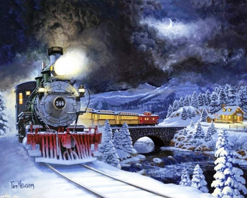 Через Херсон пройде Різдвяний потяг Святого Миколая
