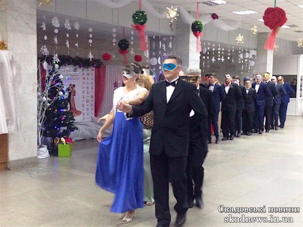 Новорічний благодійний бал відбувся у Скадовську (відео)