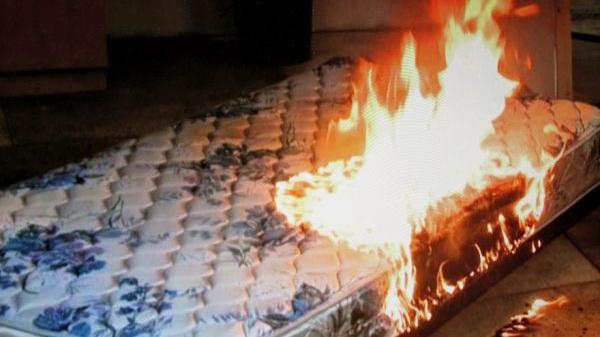 Дві одночасні пожежі у Новій Каховці