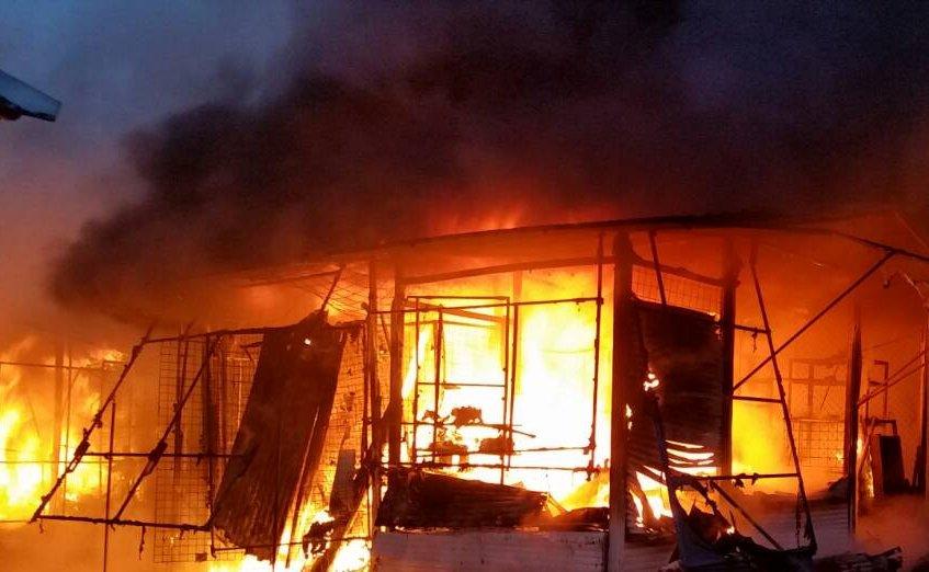 Дві пожежні машини так і не дісталися до одного з сіл Херсонщини