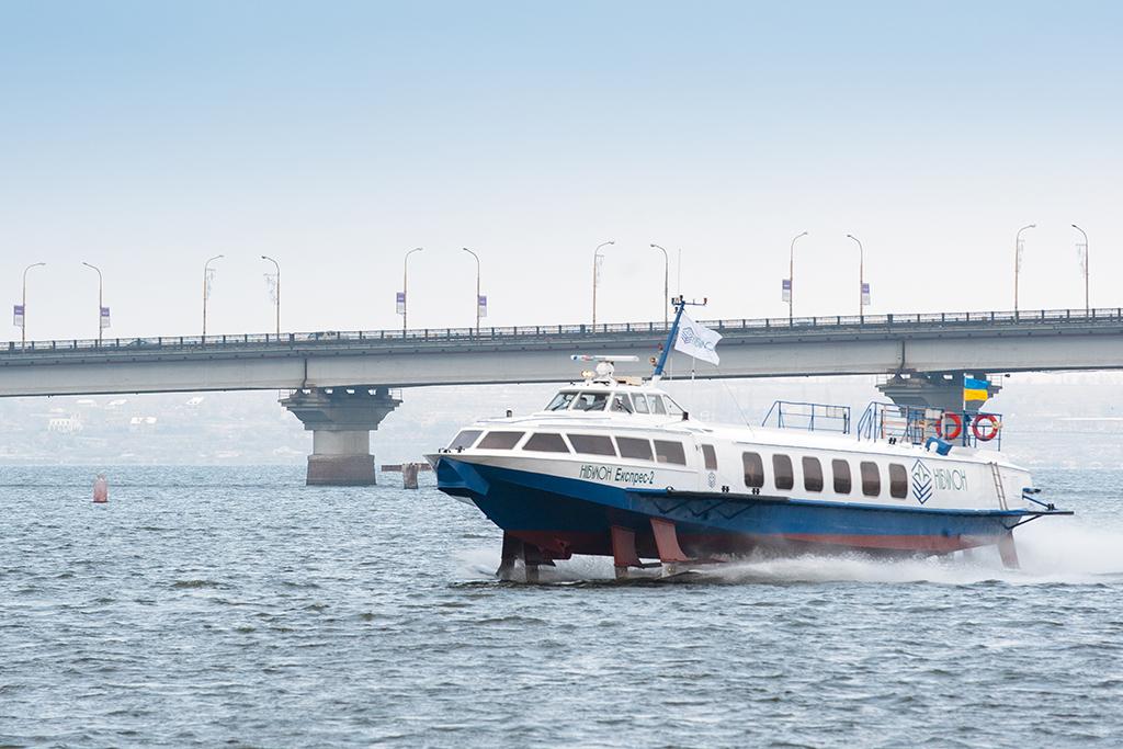 """Відміняються рейси на пасажирське судно """"Нібулон Експрес-4"""" по маршруту Нова Каховка - Херсон"""