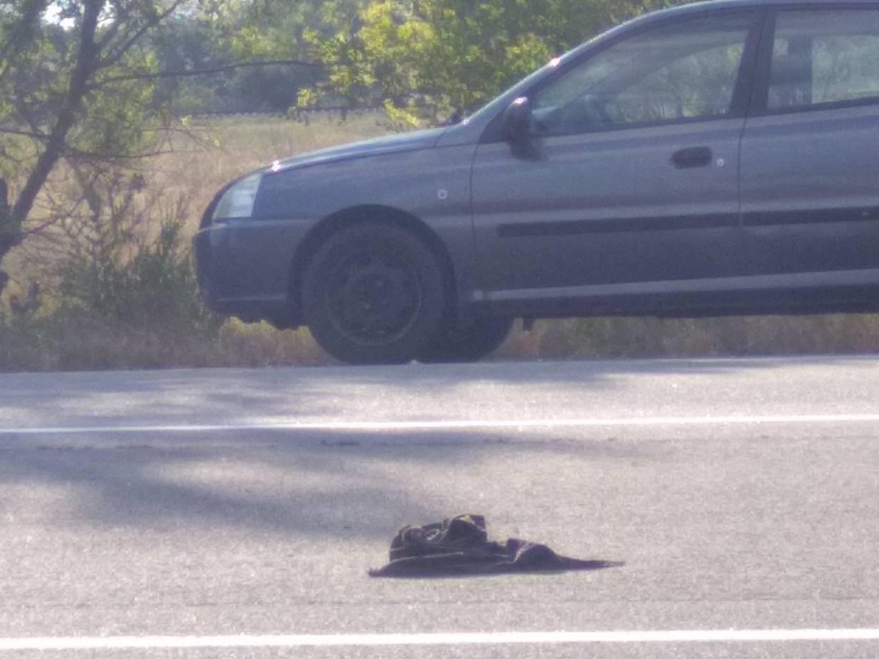 На Бериславском шоссе в Херсоне  машина сбила велосипедиста