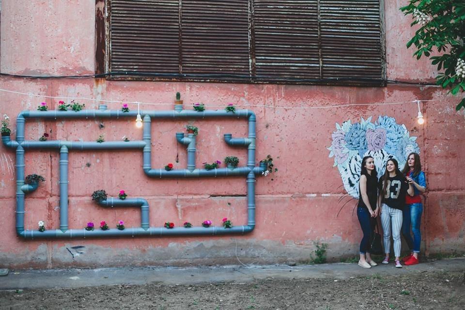 В Херсоне экспериментируют с городским пространством