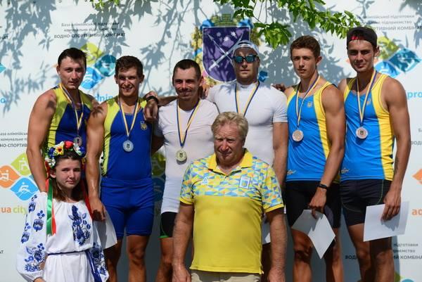 Херсонские гребцы завоевали медали на чемпионате Украины