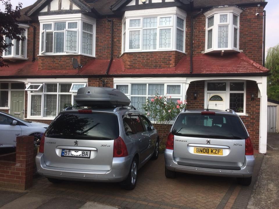 В Лондоне сфотографировали автомобиль с херсонским номерами