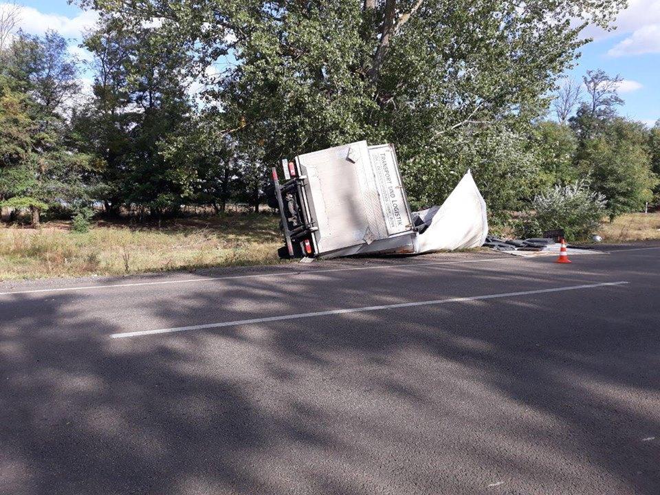 В аварии на Херсонщине погиб человек (ФОТО)