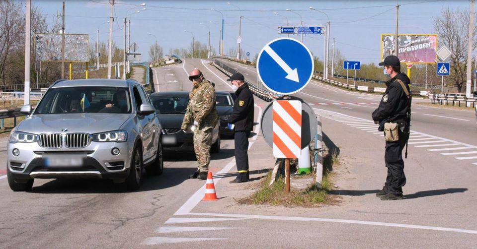 На Херсонщині поліцейські склали 260 адміністративних протоколів на порушників карантину