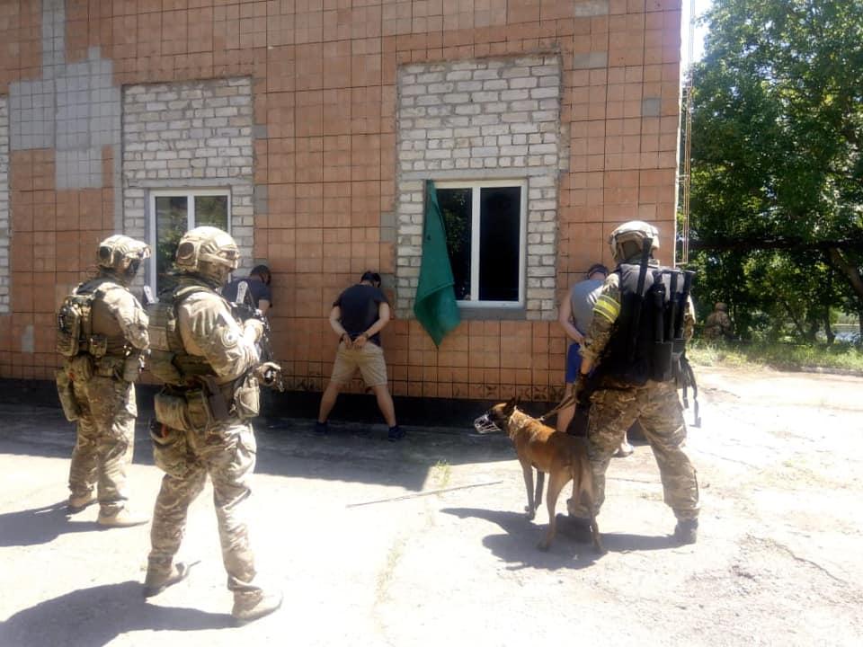 Підрозділи СБУ Херсонської області провели антитерористичні навчання - ФОТО, ВІДЕО