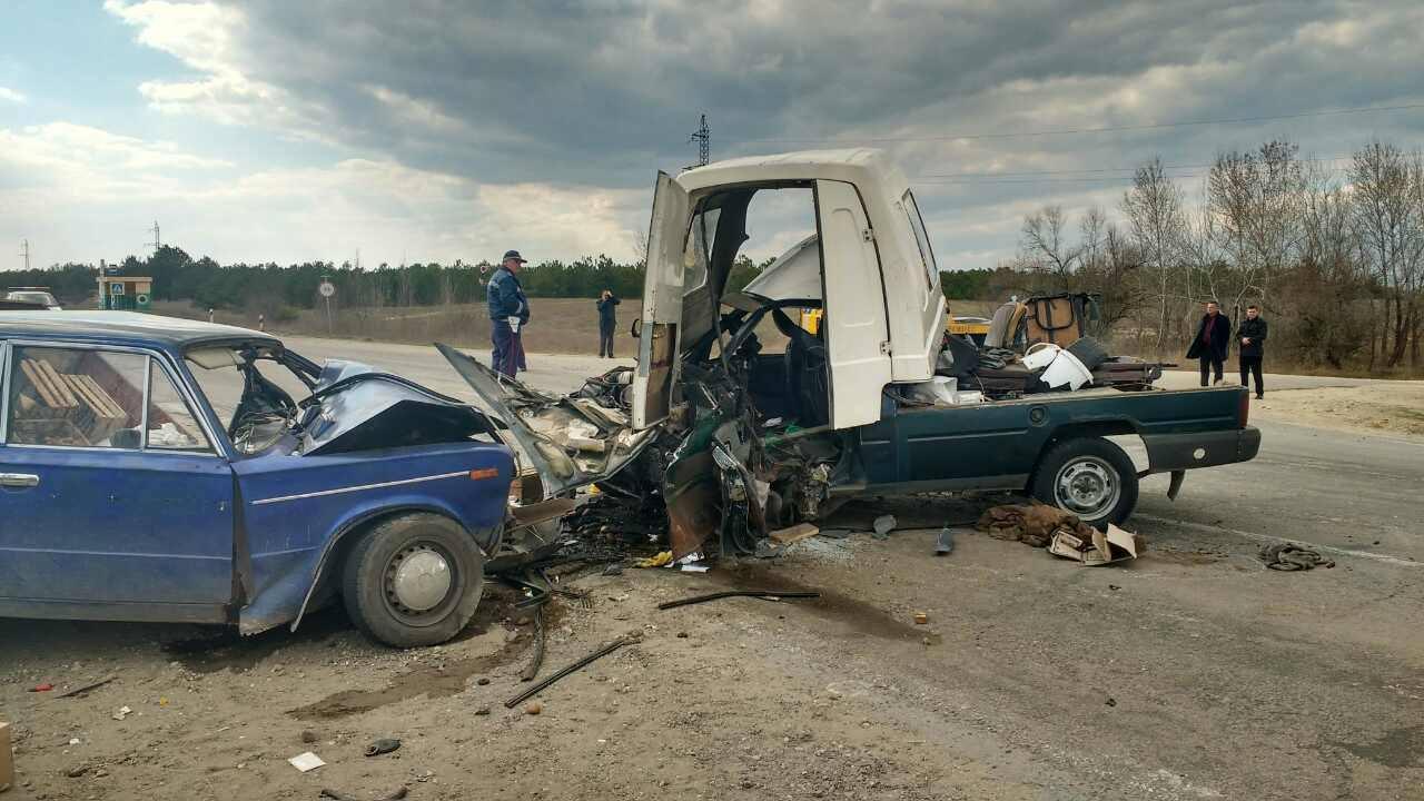 На Херсонщине в Голопристанском районе - масштабная дорожная авария (фото)