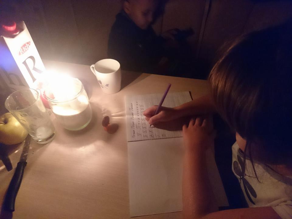 Жители Геническа и Арабатской стрелки о жизни без электричества: романтики – ноль, зла – полный воз