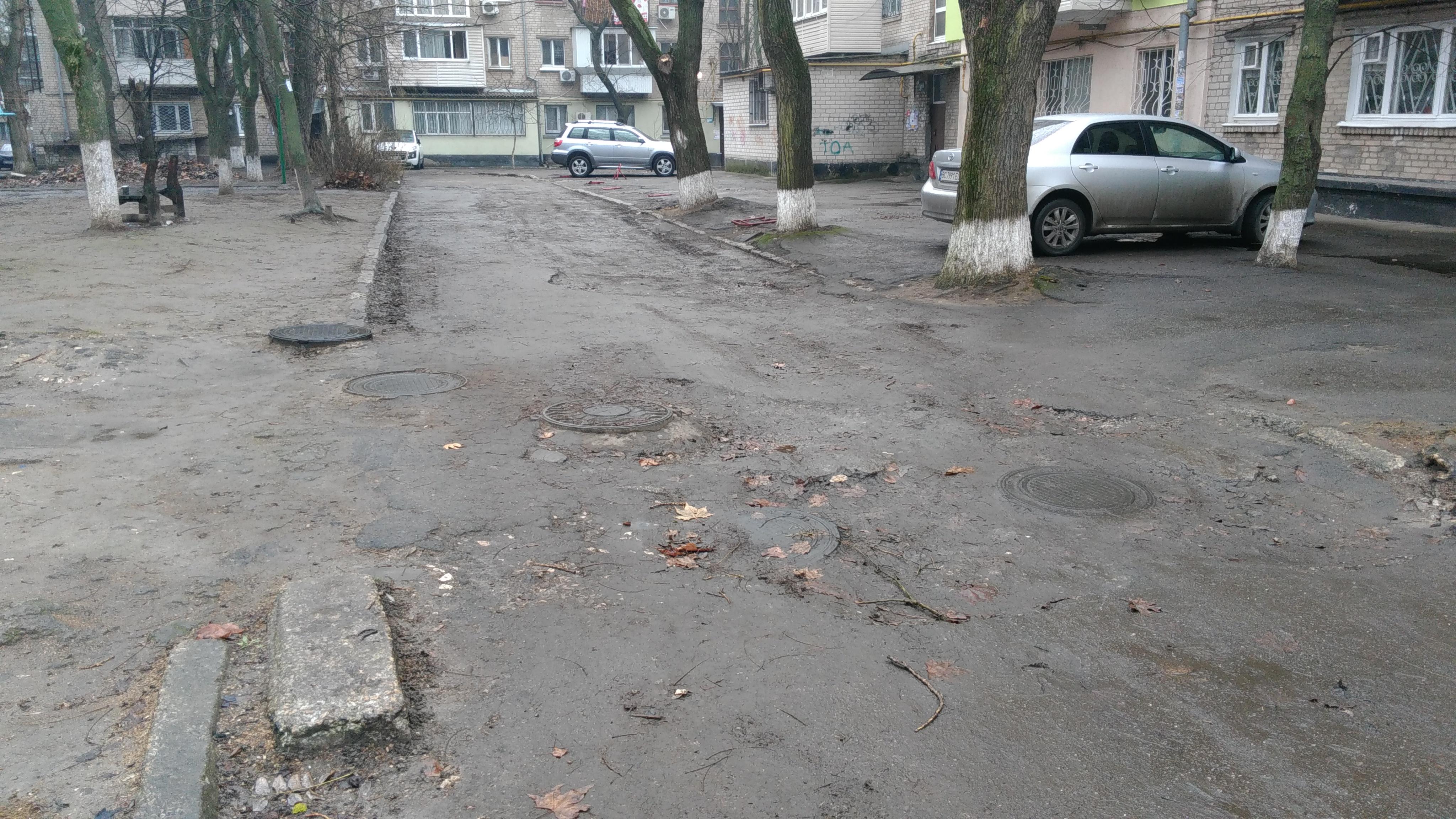 Власти Красносельского района не торопятся с ремонтом дорог